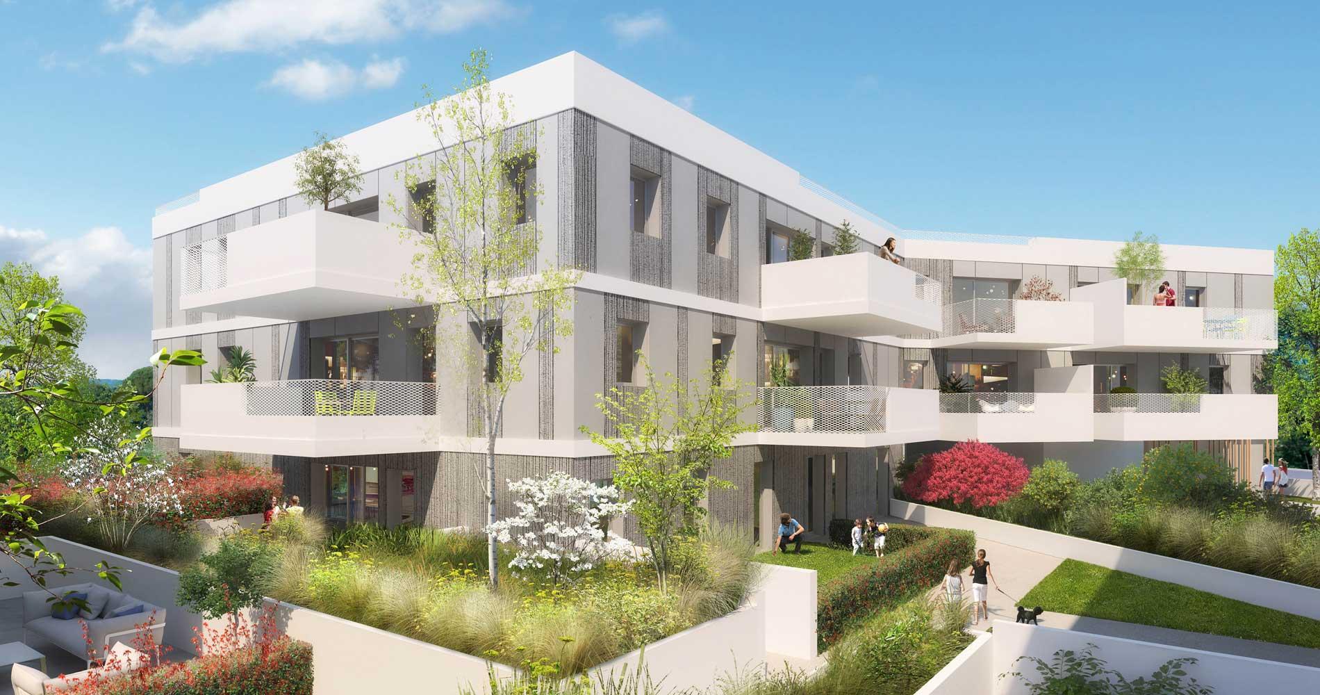 Achat immobilier appartement neuf montpellier s te for Entretien jardin castelnau le lez