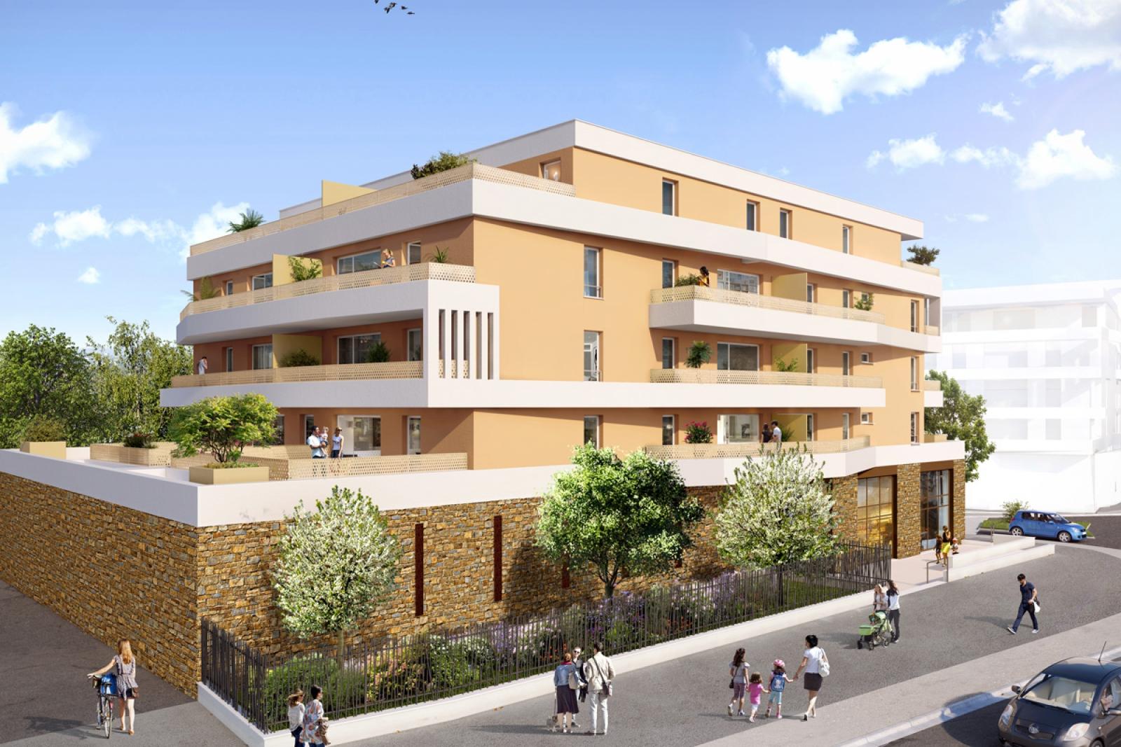 Achat appartement neuf dans la r sidence la strada for Achat appartement dans le neuf