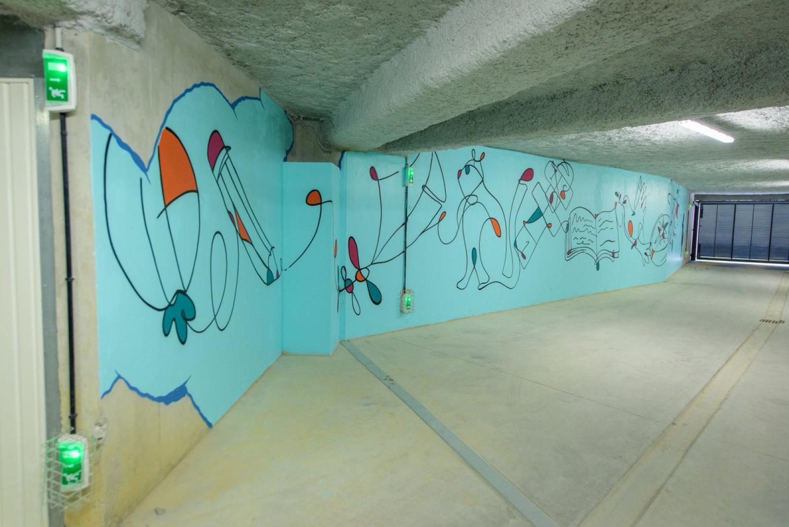 Dans toutes les résidences signées IDEOM, l'art est présent